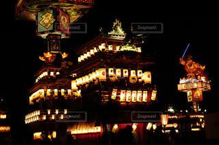 飯田町燈籠山祭りの写真・画像素材[1200482]