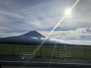 自然,富士山,山,登山,夢,景観,ポジティブ,日中