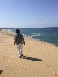 風景,海,空,砂,海岸