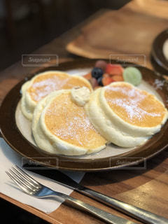 ふわふわパンケーキの写真・画像素材[1294067]