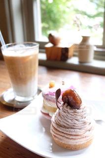 食べ物,カフェ,秋,ケーキ,栗,おいしい,Autumn,芋,Delicious,モンブラン