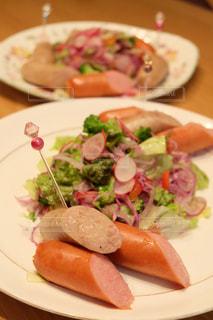食べ物,サラダ,ウインナー,おいしい,美味しい,アンバサダー,ジョンソンヴィル