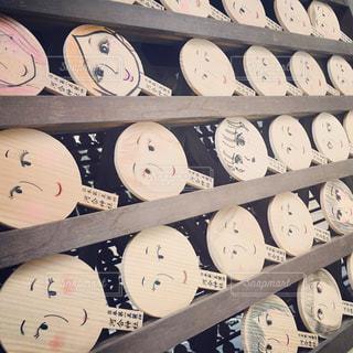 京都 美人祈願 河合神社の絵馬の写真・画像素材[1196217]
