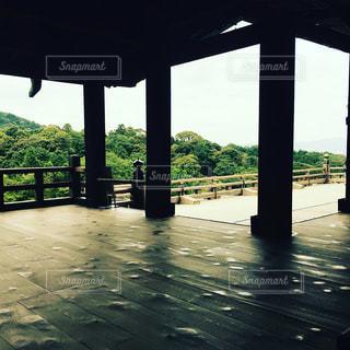 早朝の清水寺の写真・画像素材[1196237]