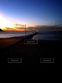 海,空,夕暮れ,房総,館山