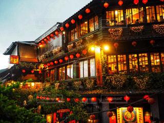 台湾九份阿妹茶楼の写真・画像素材[1683973]