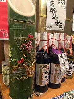 錦市場の酒屋さんの正月の写真・画像素材[1693861]