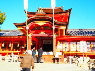 石清水八幡宮初詣の写真・画像素材[1728569]