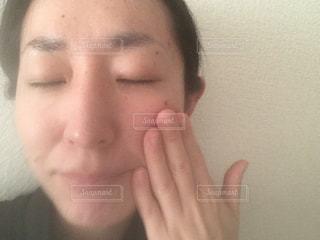 洗顔直後の写真・画像素材[1739067]