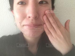 洗顔後の写真・画像素材[1740151]