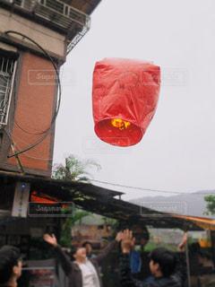 赤,ランタン,台湾,十分