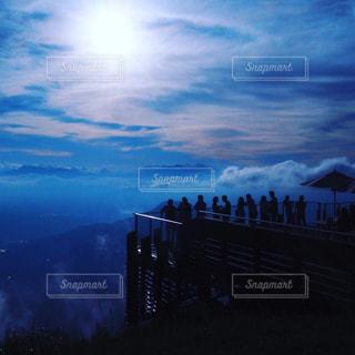 空テラスからの雲海の写真・画像素材[1868073]