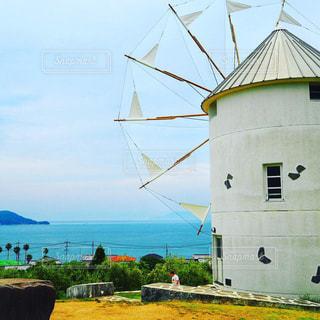 風車の写真・画像素材[2342687]