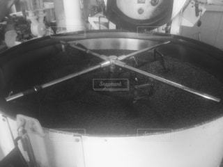 珈琲焙煎機の写真・画像素材[1274537]