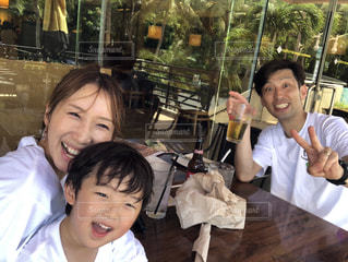 家族,笑顔,ご飯,みんなで笑顔