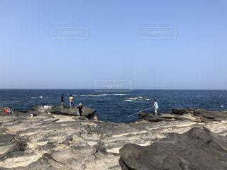 城ヶ島、夏のビーチの写真・画像素材[1366874]