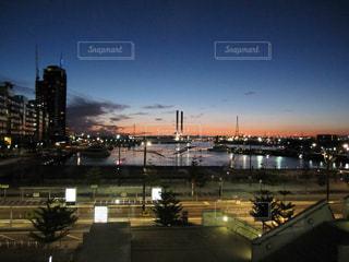 自然,空,夕日,太陽,オーストラリア,ヨットハーバー