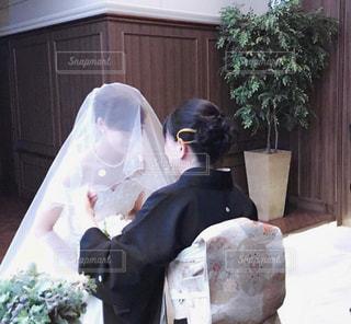 結婚式,チャペル,お母さん,涙,今までありがとう,ベールダウン,記念すべき日