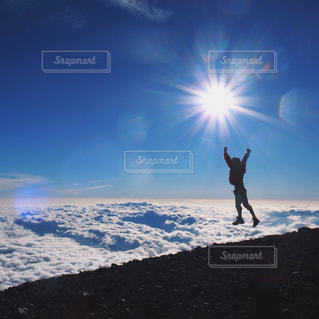 富士登山の写真・画像素材[1405290]