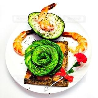 食品のプレートの写真・画像素材[1270846]