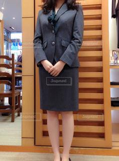スーツとネクタイを着ている人の写真・画像素材[1646854]