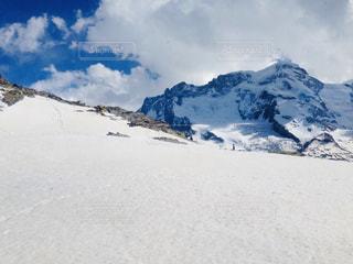 自然,風景,空,雪,白,雲,山,ハイキング,ホワイト