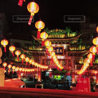 中華街の寺院の写真・画像素材[1196470]