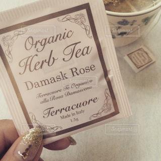 薔薇の紅茶の写真・画像素材[1216478]
