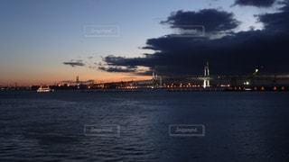 水体の大型船の写真・画像素材[1216916]
