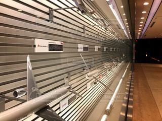 空港内のディスプレイの写真・画像素材[1262116]
