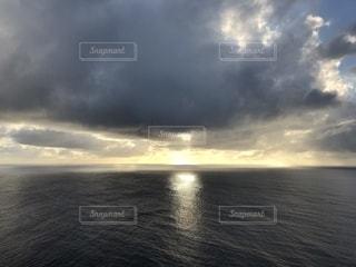 海,空,夕日,屋外,水面,グアム,夕陽,眺め,恋人岬