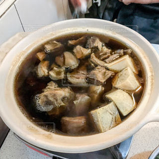 台北 薬膳山羊・羊鍋の写真・画像素材[1217808]