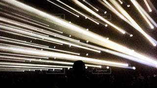 ストライプ状の光線の写真・画像素材[1261489]