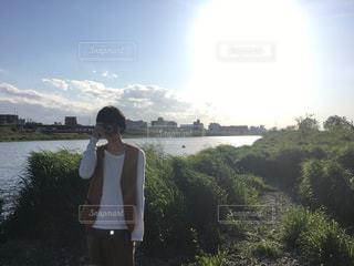 男性の写真・画像素材[451566]