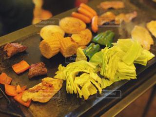 食品トレイの写真・画像素材[1204403]