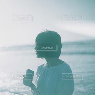 朝焼けの海の写真・画像素材[1233379]