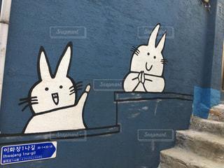 屋外,海外,観光地,景色,韓国,壁画,ソウル,梨花洞