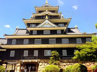 初夏の岡山城。の写真・画像素材[1206785]
