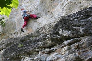 男性,屋外,ロッククライミング,rock-climbing