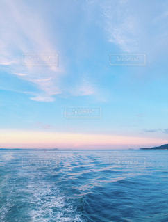 瀬戸内海の青空の写真・画像素材[1316998]