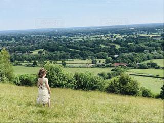 イギリスの春景色の写真・画像素材[2169880]