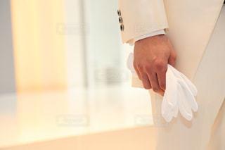 白いシャツの人の写真・画像素材[1249522]