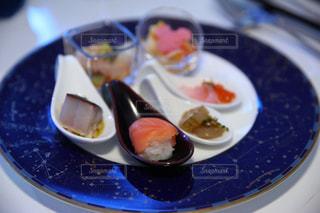 食品のプレートの写真・画像素材[1252010]