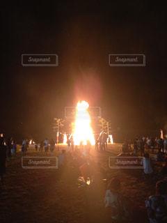 南部の火祭りの写真・画像素材[1211103]
