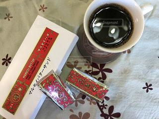 コーヒー,屋内,室内,休憩,お菓子,お茶,まったり,バターサンド