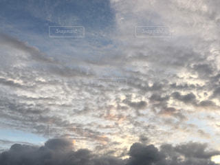 雲,青空,夕暮れ,曇り,曇り空,秋空,フォトジェニック