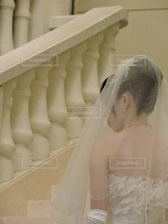 ウェディングドレスの写真・画像素材[1228775]