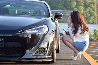 車好きの高校生の写真・画像素材[1267931]