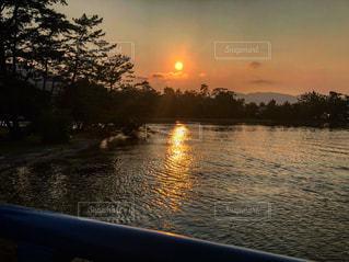 海,空,夕日,屋外,京都,夕焼け,写真,未来,天橋立,夢,ポジティブ,可能性