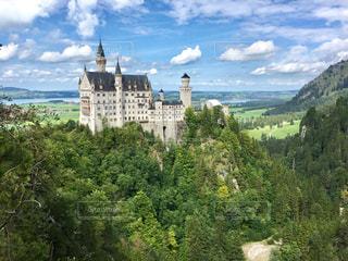 ノイシュヴァンシュタイン城の写真・画像素材[1207560]